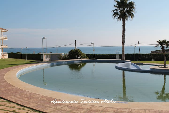 PENTHOUSE BEACHFRONT POOL - Alcossebre - Apartamento