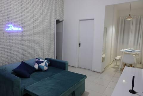 Apartamento aconchegante 350m da praia Copacabana