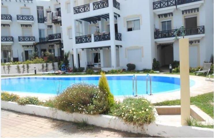 Perfect waterfront Appartment  - Dar Bouazza - Apartament