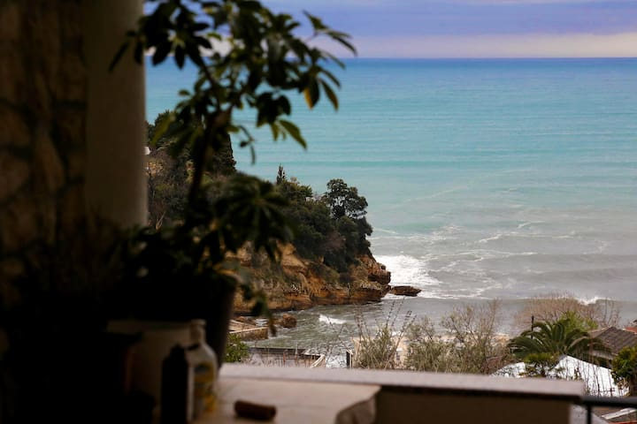 Beautiful sea view studio + balcony S2 - Ulcinj - Casa