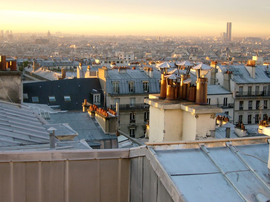 Another view of Paris from the living room