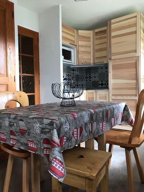 Appartement 4 personnes tout confort ménage inclus