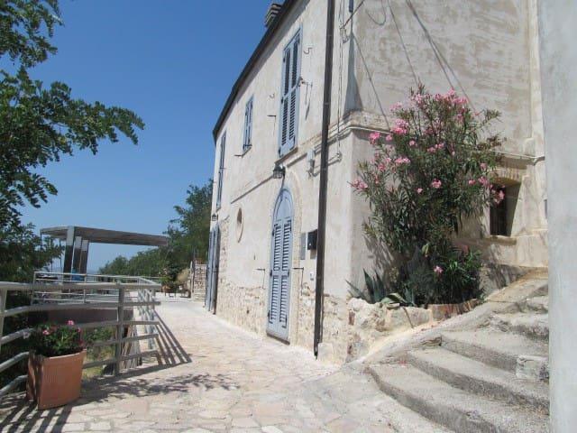 Bilocale romantico con bel panorama - Montenero di Bisaccia - Oda + Kahvaltı