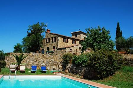 Antique countryhouse in Chianti - Monsanto, Barberino Val d'Elsa