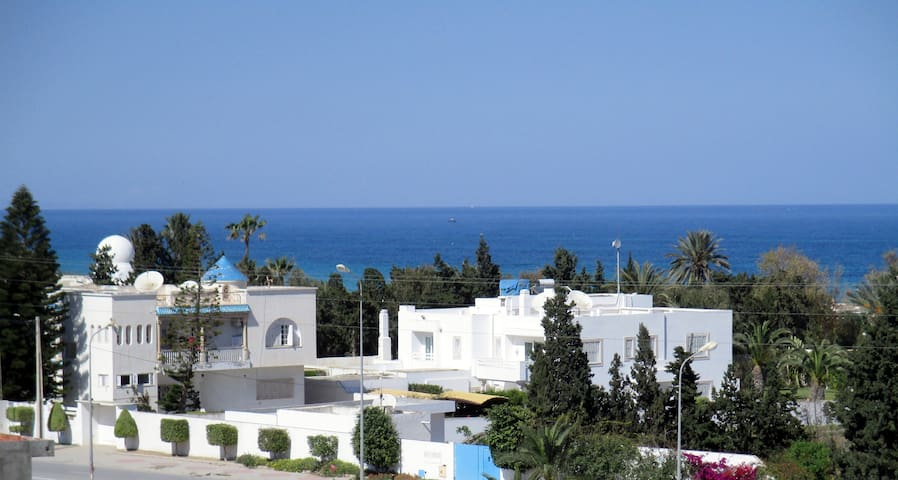 Large and bright apartment, terrace with sea view - Sousse - Apartment
