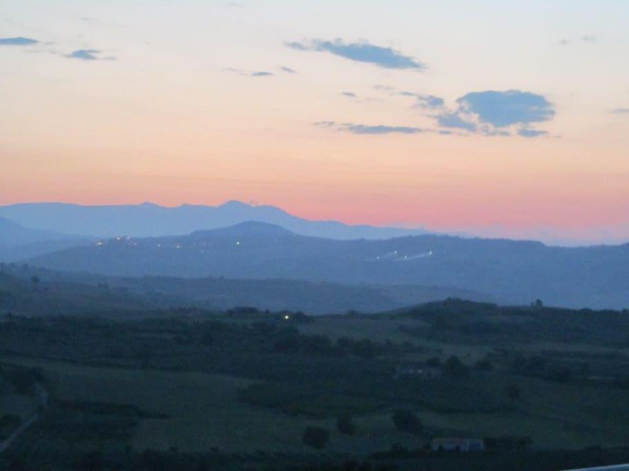 Il magnifico tramonto