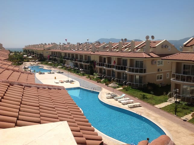 2 Bedroom Apartment, Calis Beach - Fethiye - Flat