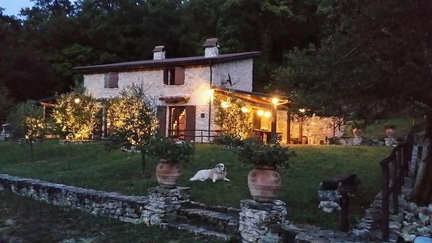Charming stone farmhouse near Rome. - POGGIO MOIANO - Haus