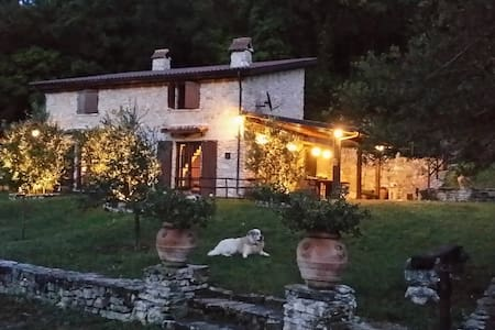 Charming stone farmhouse near Rome.