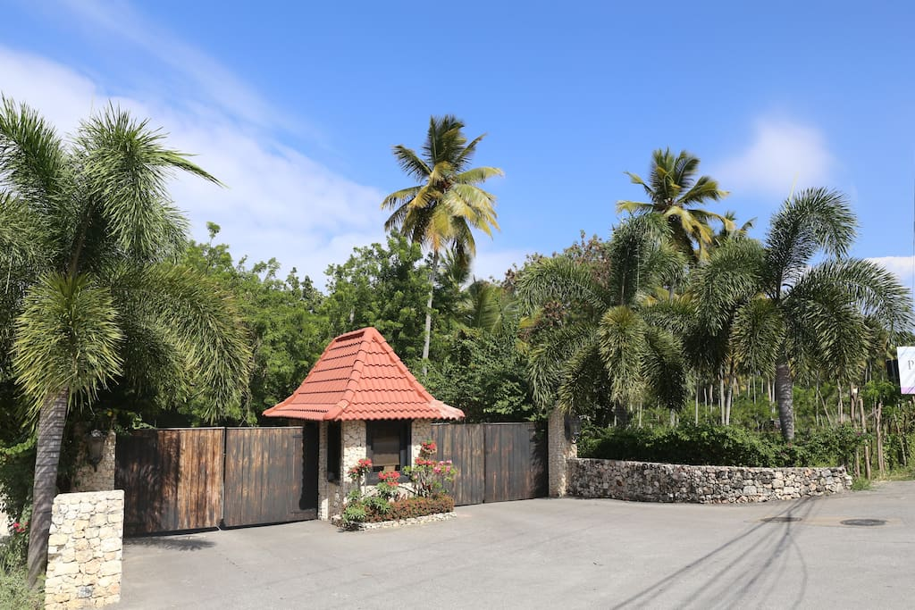 Exclusive gated community in Orchid Bay Estates