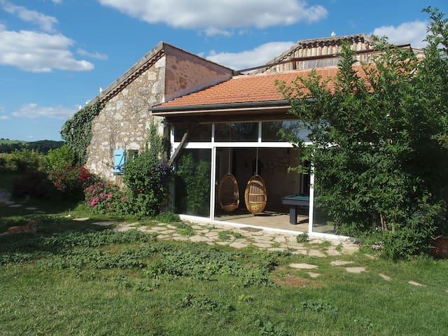 14p. B&B in rural Gascony upon the Gers valley