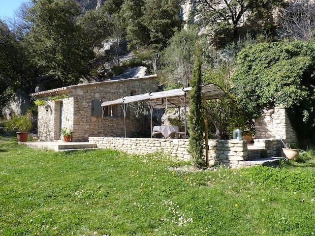 Ferienhaus LA BAUMO 1 Provence Hund - Le Beaucet - Dom