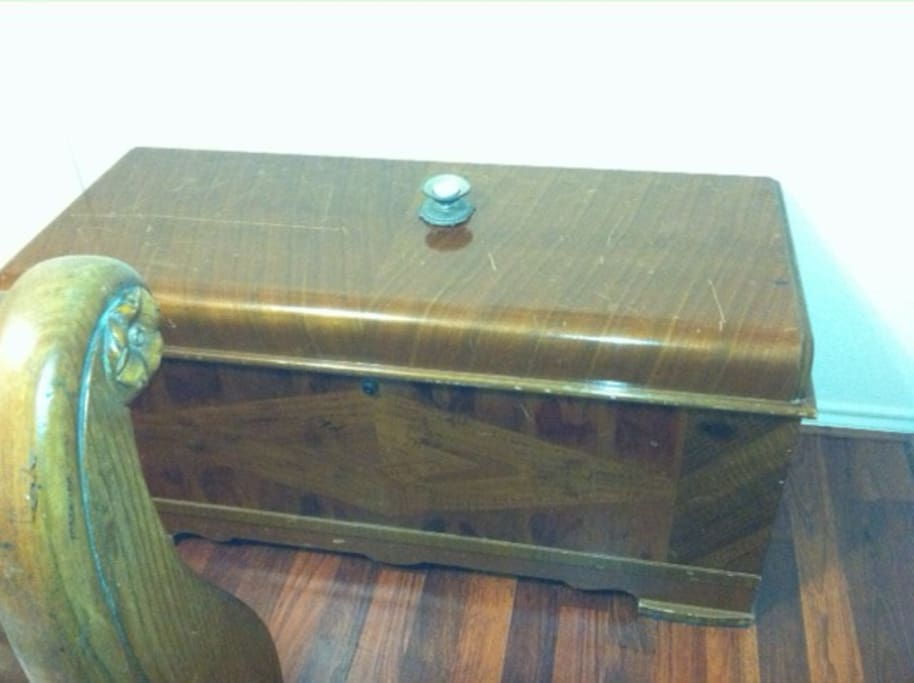 Cedar chest
