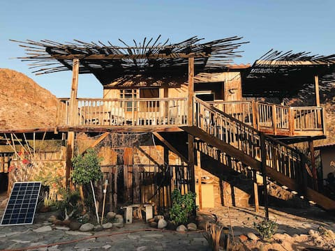 Baja Glamping  / The treehouse