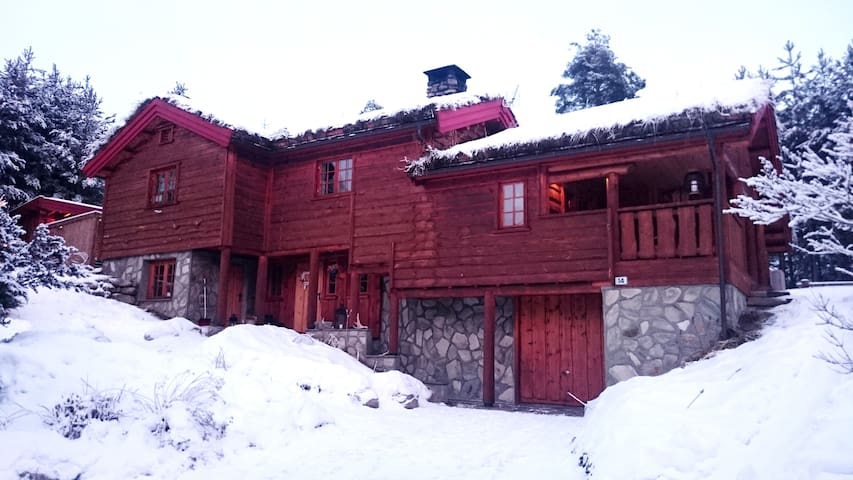 Fantastic house close to Kvitfjell & the mountains - Ringebu kommune - Casa