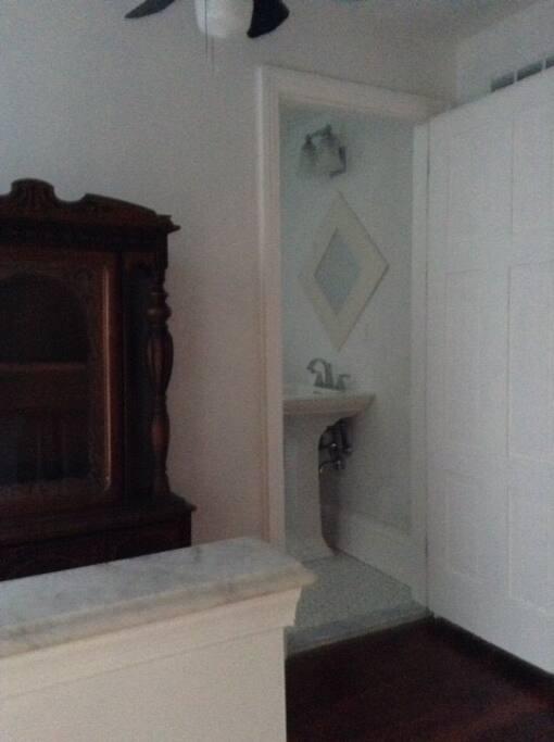 Third floor private Full Bath.