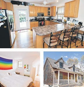 Room type: Entire home/apt Property type: House Accommodates: 8 Bedrooms: 4 Bathrooms: 4