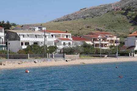 Studio flat near beach Metajna, Pag (AS-6486-b) - Metajna
