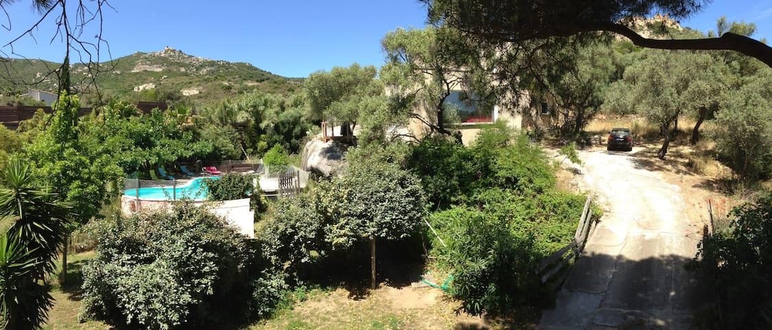 Calvi, villa au calme proche centre ville et plage - カルビ - 別荘