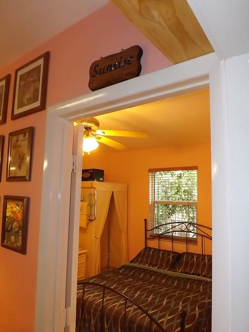 Entrance to room