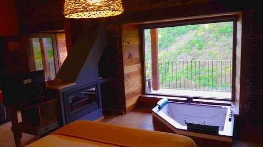 Apartamento Soñando De Luxe con Jacuzzi, El Bosque de las Viñas