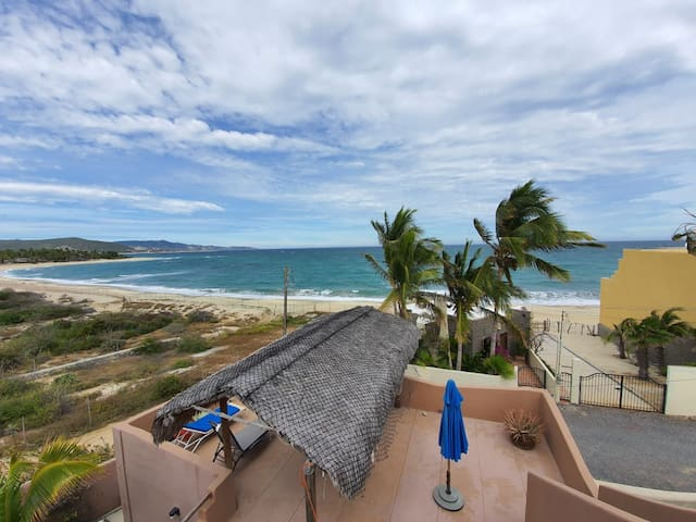 Steps from the beach, great for families!