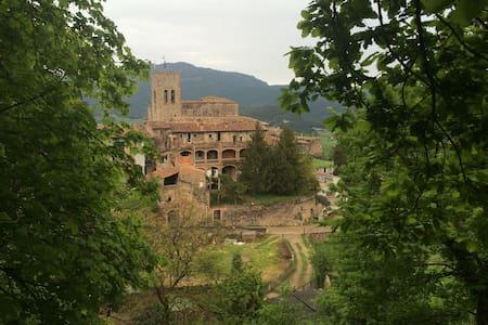 Habitación privada en masia rural - Santa Pau - บ้าน