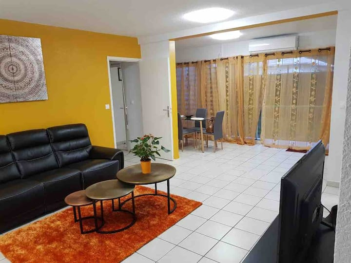 Appartement T2 62m2 rond-point baduel