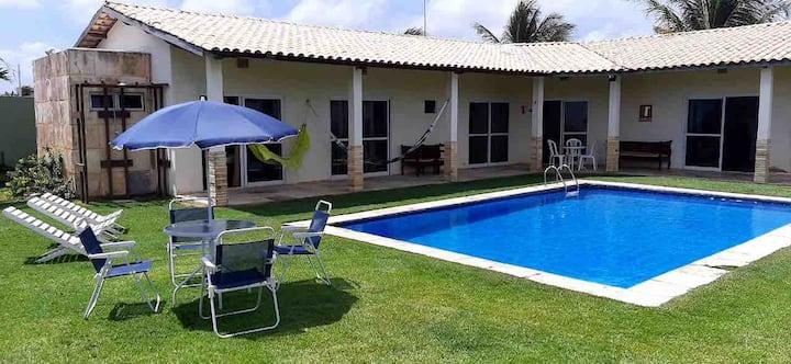 Casa Paracuru, bem localizada, descanse no paraiso