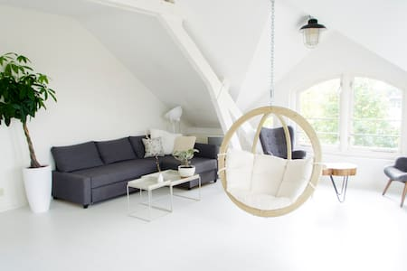 Light & spacious attic close to city centre - Utrecht - Lakás