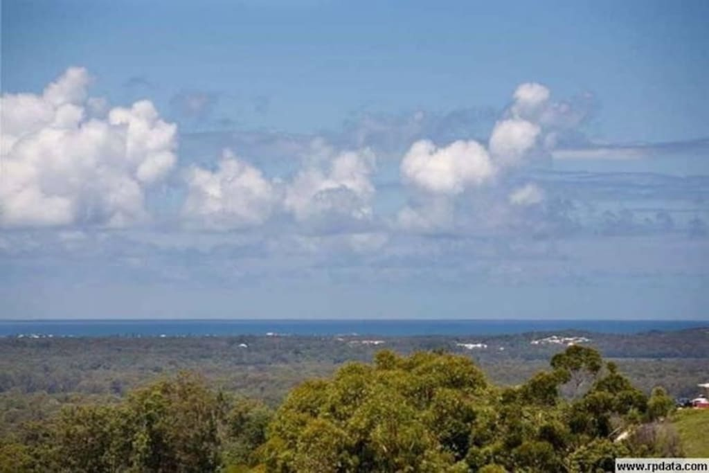 Views to the Noosa coastline