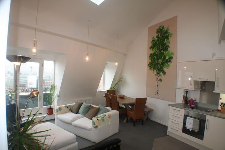 Modern loft apartment, Belfast's Cathedral Quarter