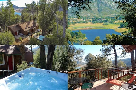 * LUXURIOUS TREE-HOUSE *** SPA, THEATER, LAKE VIEW
