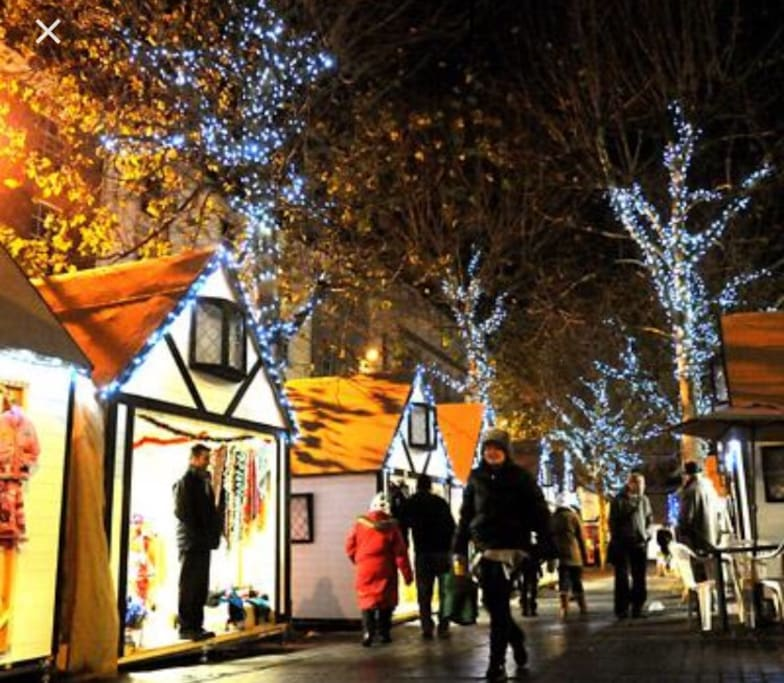 Come and visit yorks beautiful christmas markets, just a 5 minute stroll away.