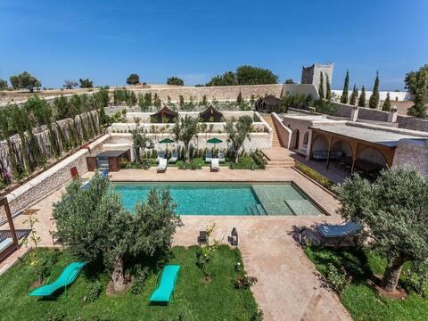 Charmant Riad Dharma avec salle de Yoga et piscine