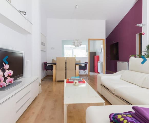 DOUBLE ROOM AT PERFECT HOME!! - Madrid - Casa