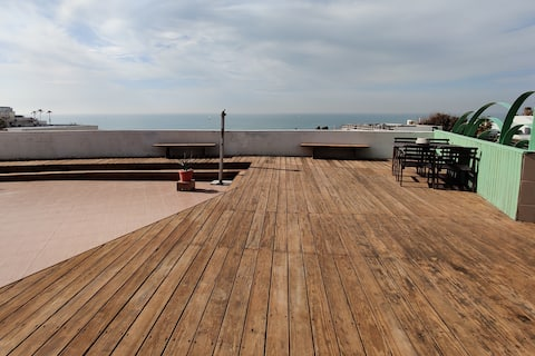 180° beach front view 🌴🌅