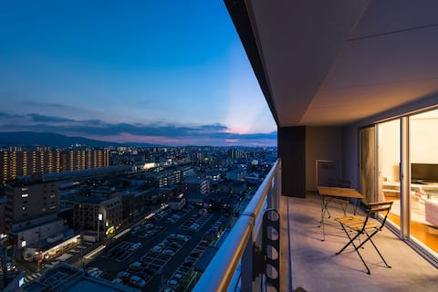 ☆ Top floor 15F ☆ 7 minutes from Hakata station ☆