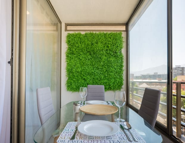 beautiful apartment with terrace and parking