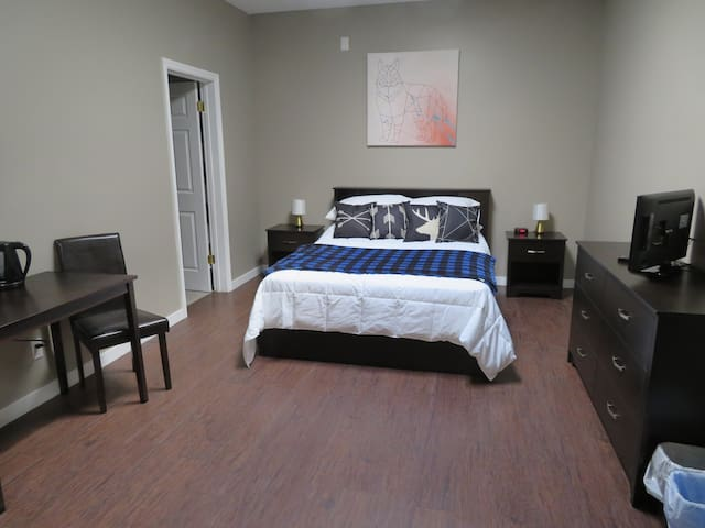 DOWNTOWN PRIVATE ENSUITE #2, 5 MIN TO SKI HILL