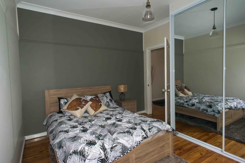 smaller bedroom with double bed
