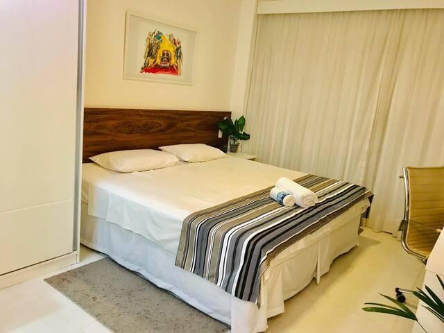 EXCELENTE FLAT EM HOTEL ÁREA CENTRAL BRASÍLIA F218