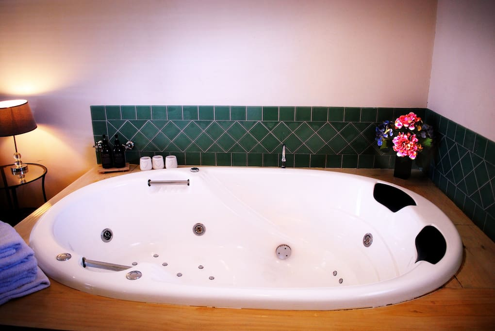 Fantastic spa bath for relaxing