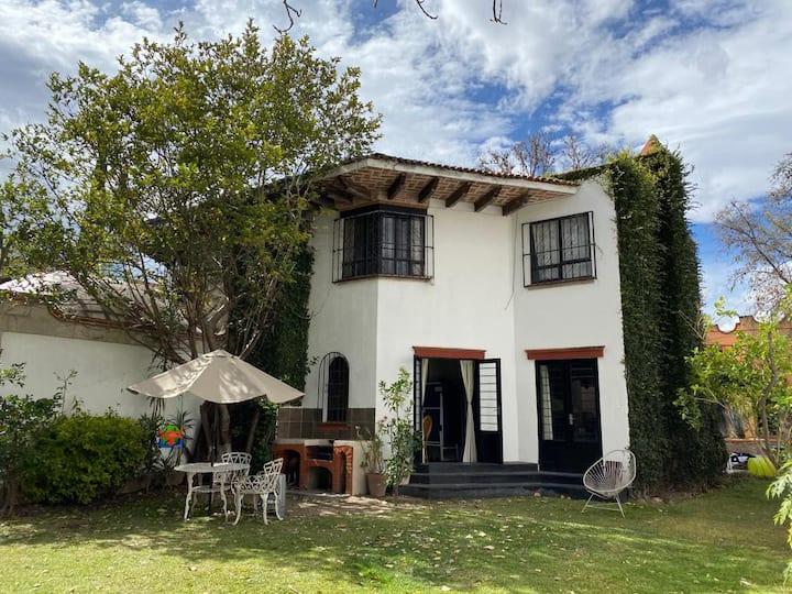 Hermosa casa rústica en el centro de Tequisquiapan
