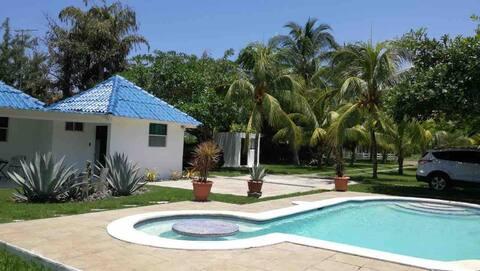 Rancho Los Azulinos - Hermosa casa de playa