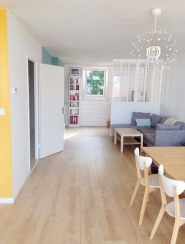 Appartement spacieux & lumineux proche Grand Stade
