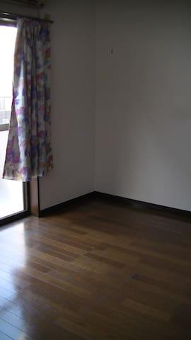 日当たり良好、エアコン付きのアパートの1室。 - Edogawa-ku - Appartement