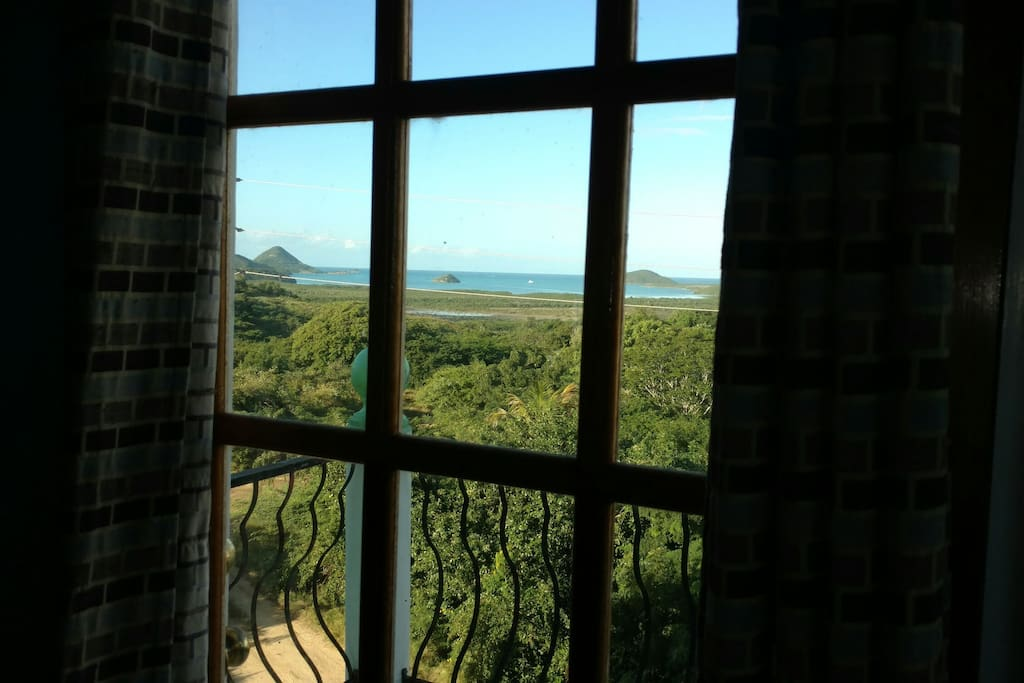 View of the bay from your bedrooms