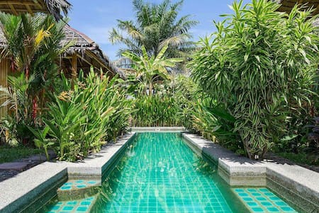 Bamboo heaven home pool spa
