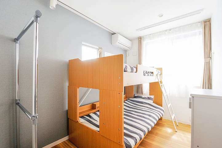 Twin Room with a Bunk Bed for 2P☆G8-6